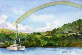 rainbow sails