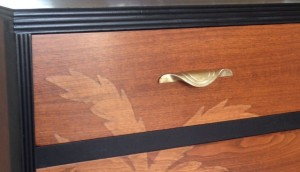 dresser low closeup